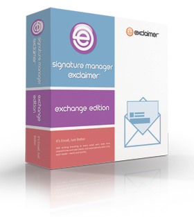 Signature Manager Exchange Edition